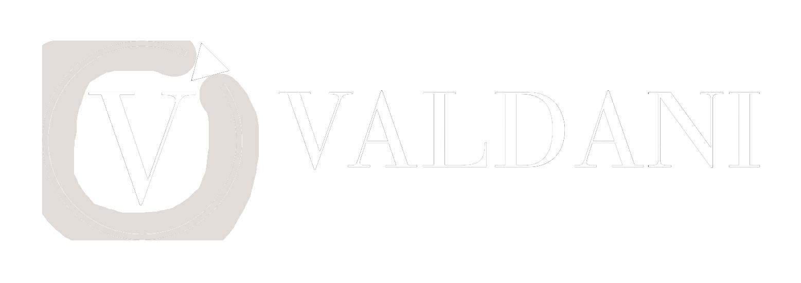 Gioielleria Valdani - Gioielli e Orologi - Logo Full Nero Trasparente